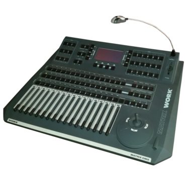 Lichtmischpult DMX 512 - Veranstaltungstechnik mieten für Bühnen und OpenAir-Bühne