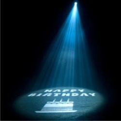 Gobo-Projektor Ikon LED 60W Happy