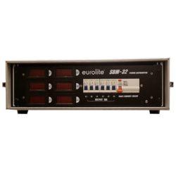 Starkstromverteiler mit Lastanzeige CEE32 Eventtechnik